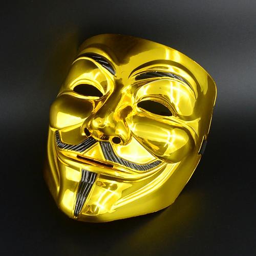 Gold Vendetta cosplay mask