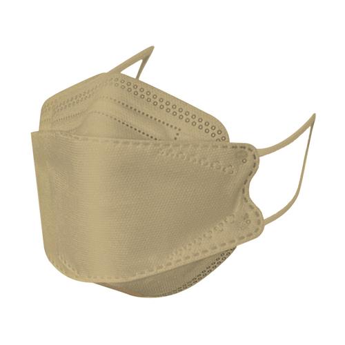 KF94 face mask khaki (10pcs/pack)