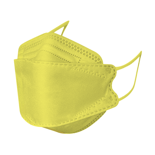 KF94 face mask yellow (10pcs/pack)