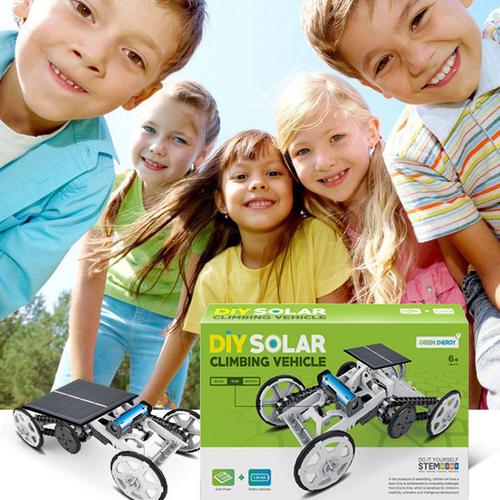 STEM DIY solar climbing vehicle