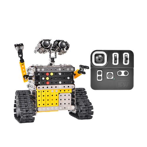 STEM DIY WALL-E robot with controller