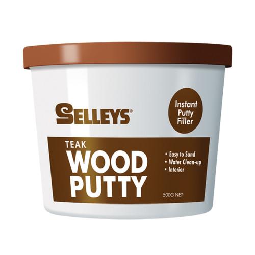 Selleys Wood Putty Teak 500Gm