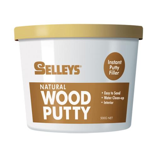 Selleys Wood Putty Natural 500G