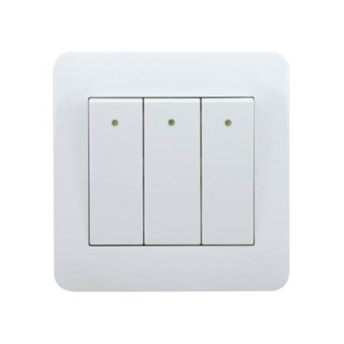 My Home Diy White  3 Gang 1 Way Switch