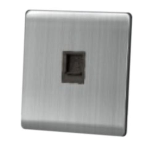 My Home Diy Silver 1 Gang Lan Socket