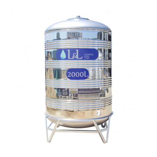 L&L Stainless Steel Water Tank VRS2000A