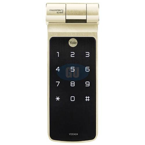 YALE BIOMETIC TUBULAR DEADBOLT DIGITAL DOOR LOCK YDD424