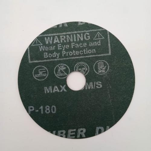 """AA FIBRE DISC (RED) 4"""" #180"""