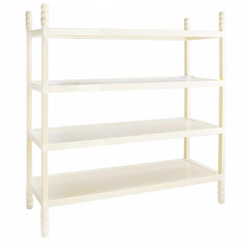 LiaoXin 4 layer wooden shoe rack 6834B