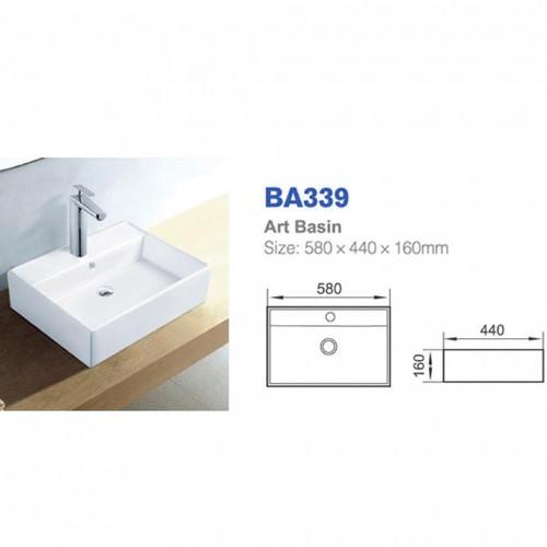 Richford Art Basin BA339 (TA00001-00108)