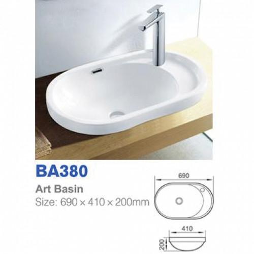 Richford Art Basin BA380 (TA00001-00124)