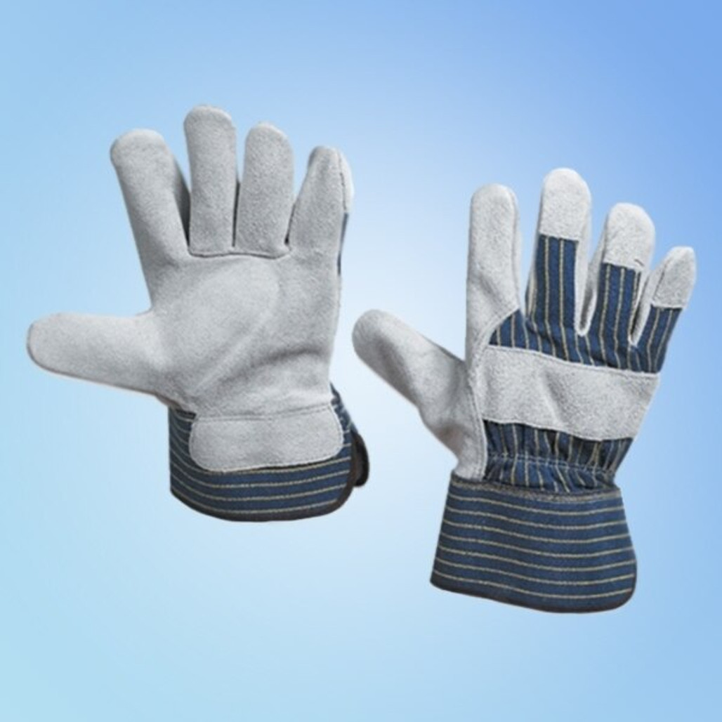 Get Leather Palm Glove w/Safety Cuff, 12 pairs LB3260 at Harmony