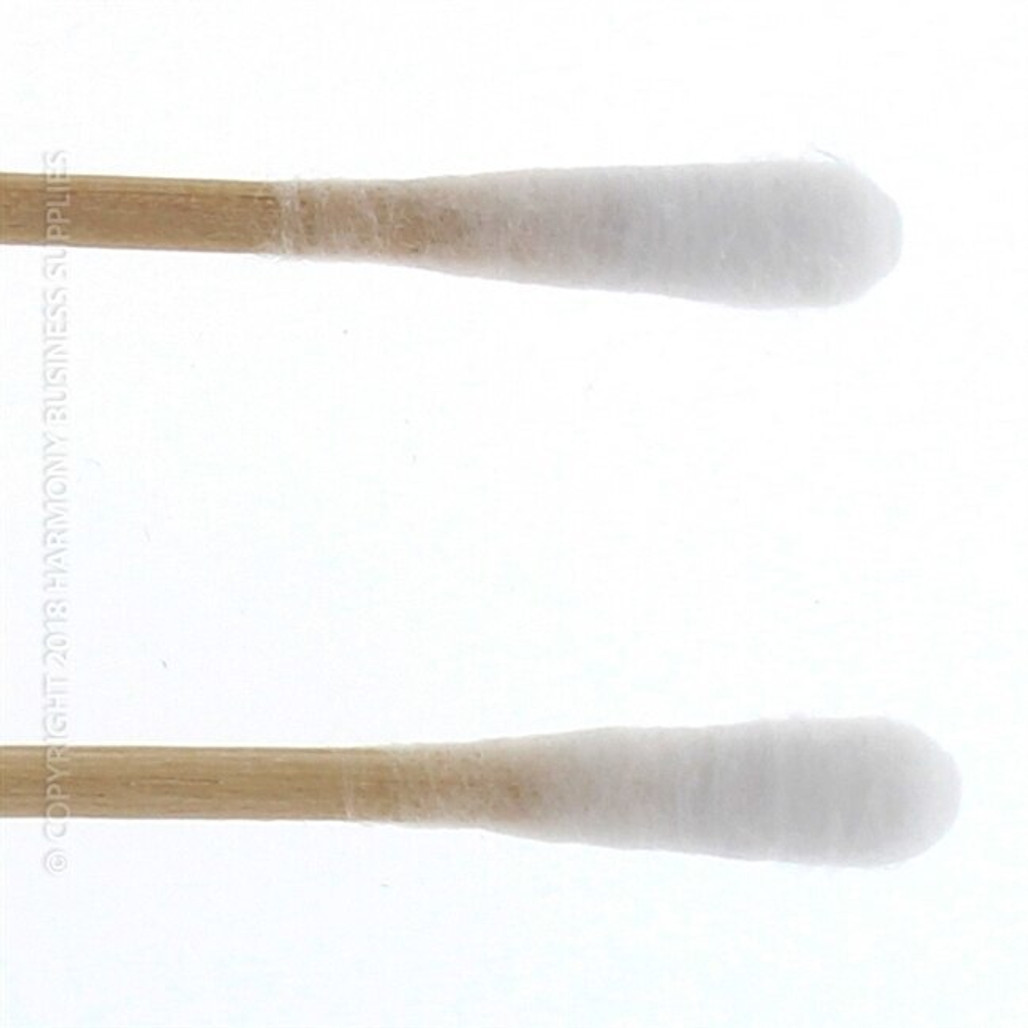 Puritan Double Sterile Polyester Swabs, Regular Tip, 6 in. Wood Shaft, 2000/case | Harmony Lab and Safety Supplies