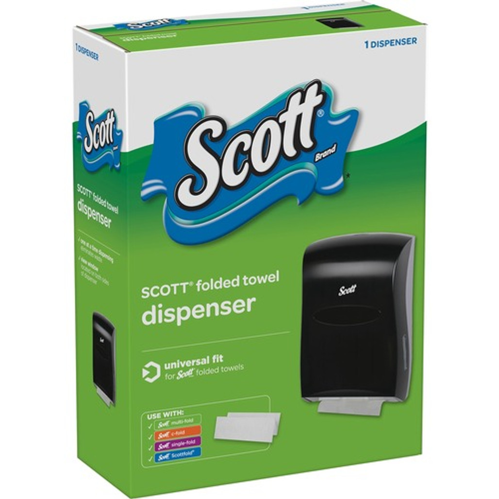 Get Scott Folded Towel Dispenser, ea at Harmony Lab & Safety Supplies.