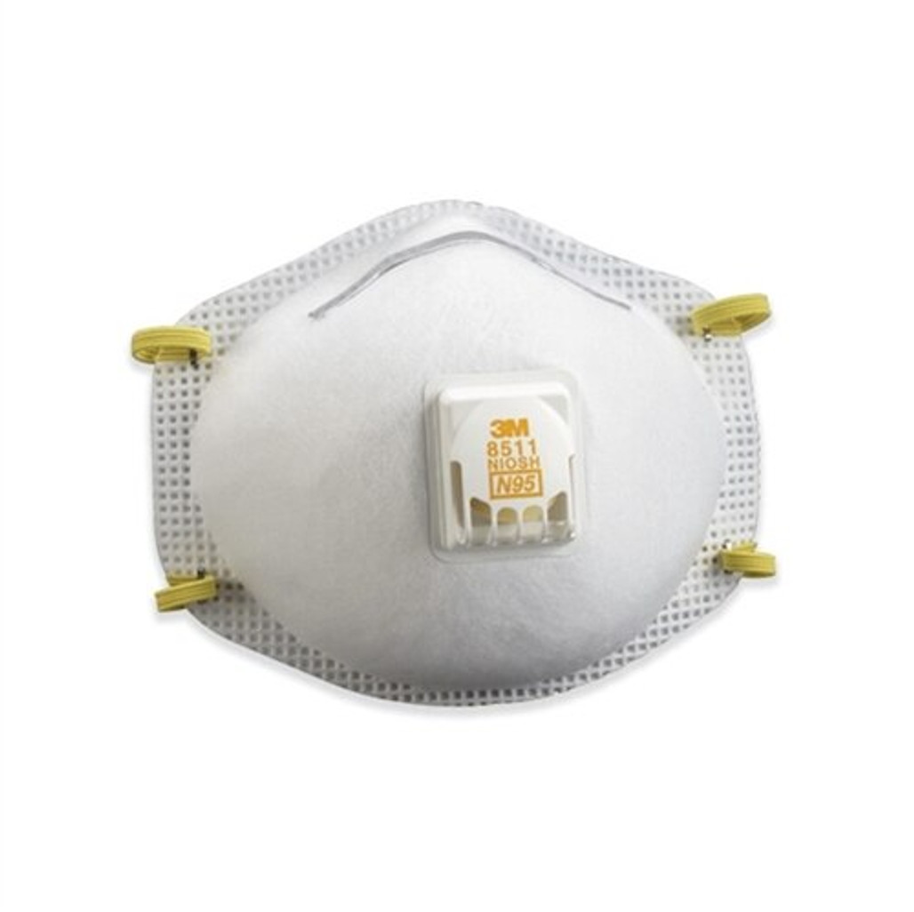 Get 3M 8511 N95 Respirator with Valve, 10/box LB8511 at Harmony