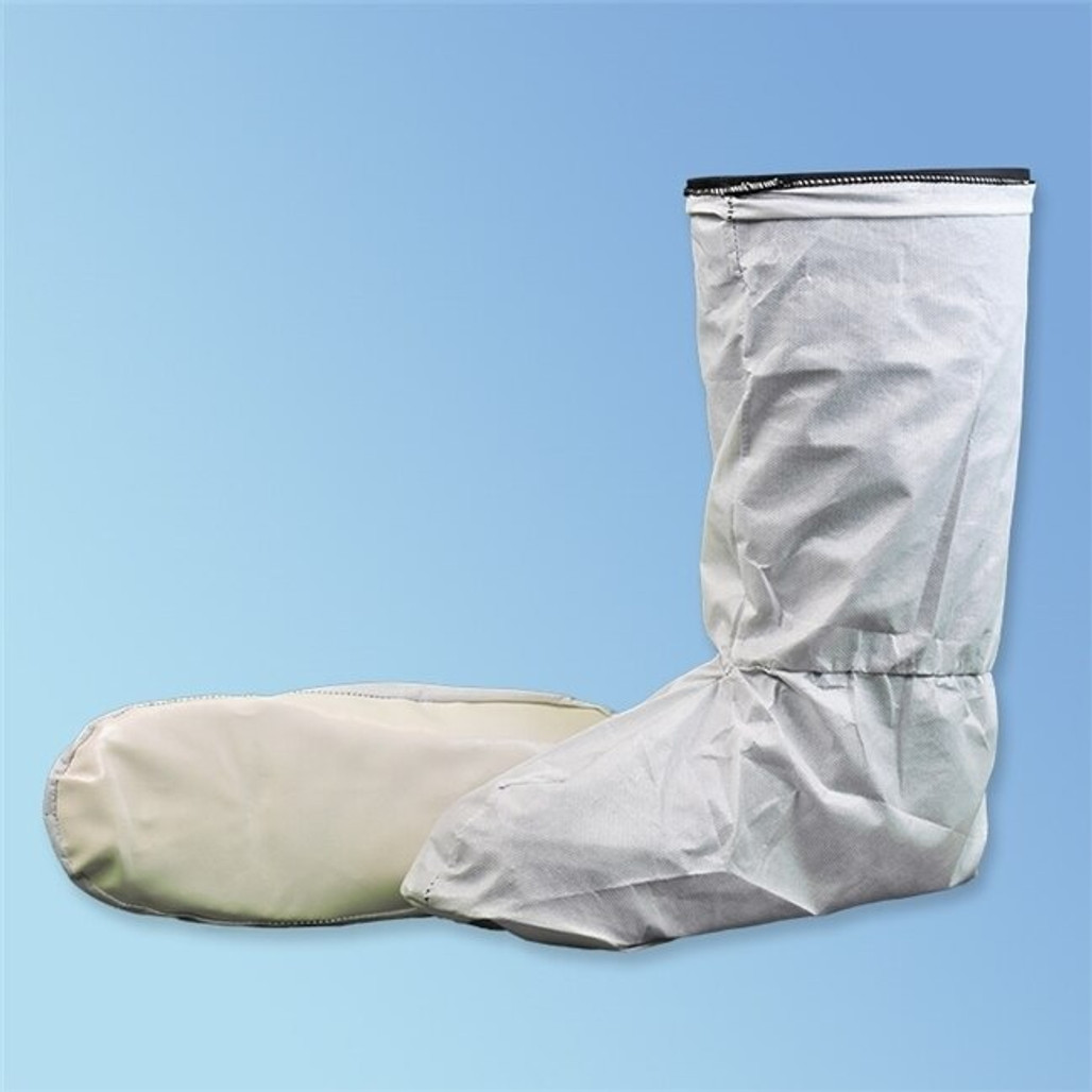 Get Keystone ISO 5 Cleanroom Boot Covers, Skid Resistant Sole, 100 pairs/cs BC-CE at Harmony