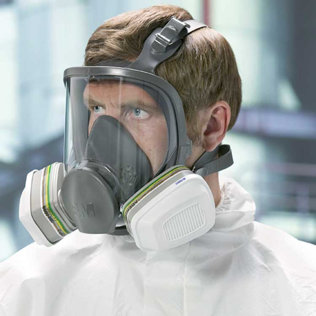 3M 6000 Series Full Face Respirator | Harmony Lab and Safety Supplies