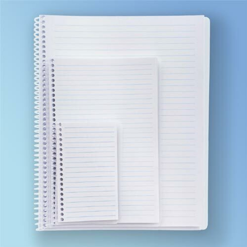 Get Cleanroom Notebook, 28#, Ruled, 100 Pages at Harmony Lab & Safety Supplies