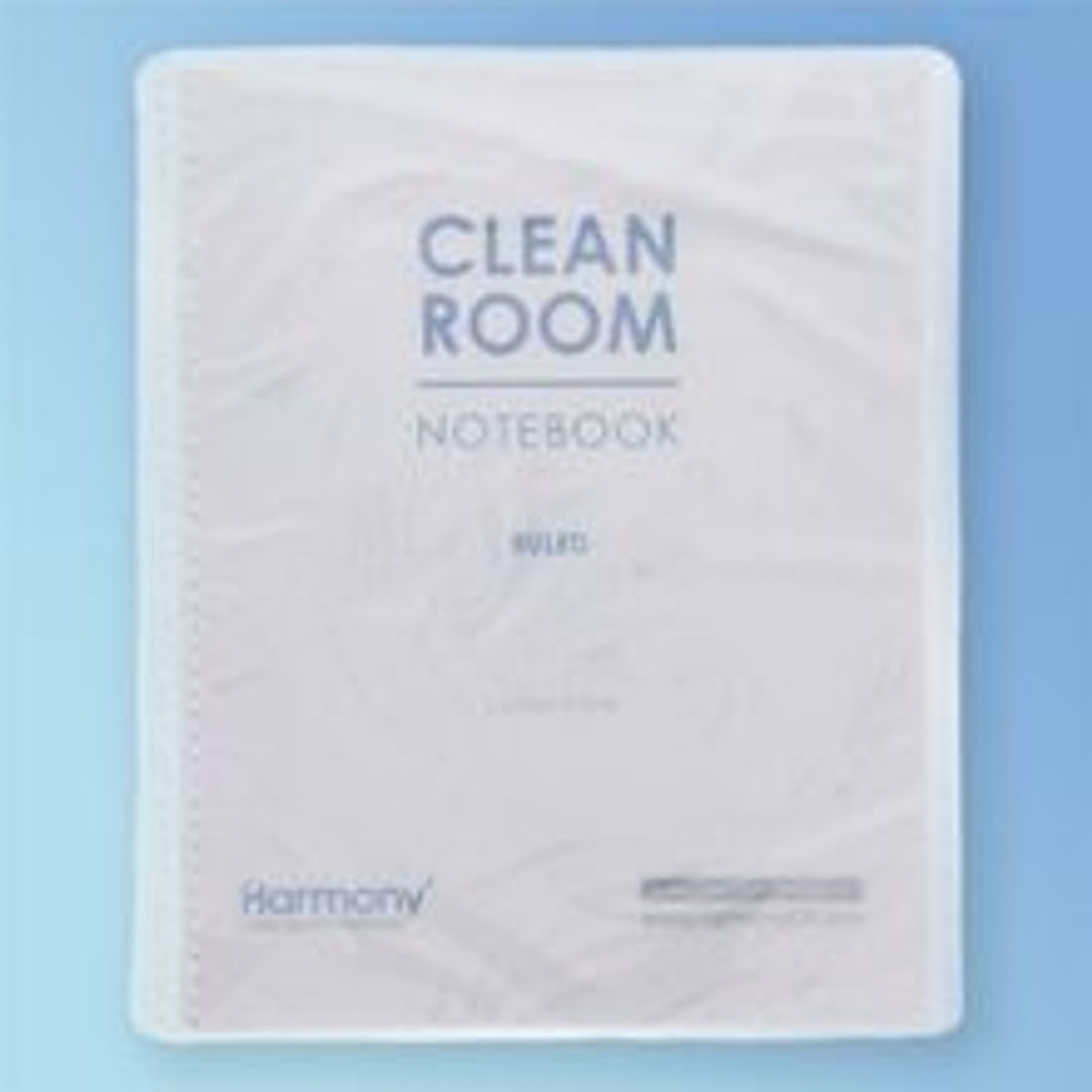"""Get Cleanroom Notebook, 28#, 8.5"""" x 11"""" Ruled, 100 Pages, ea PNB811 at Harmony"""