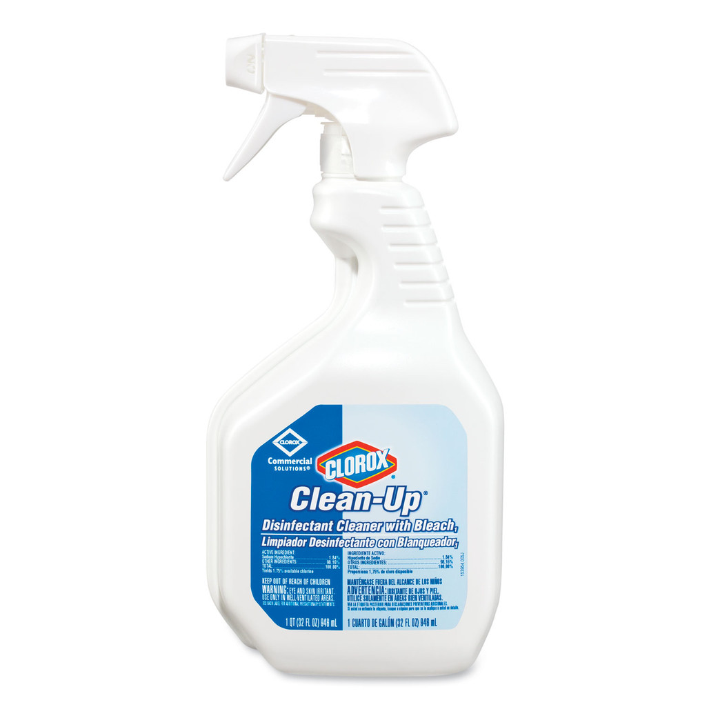 Clorox Clean-Up Disinfectant Cleaner with Bleach, 32 oz., 9/case | Harmony Lab and Safety Supplies