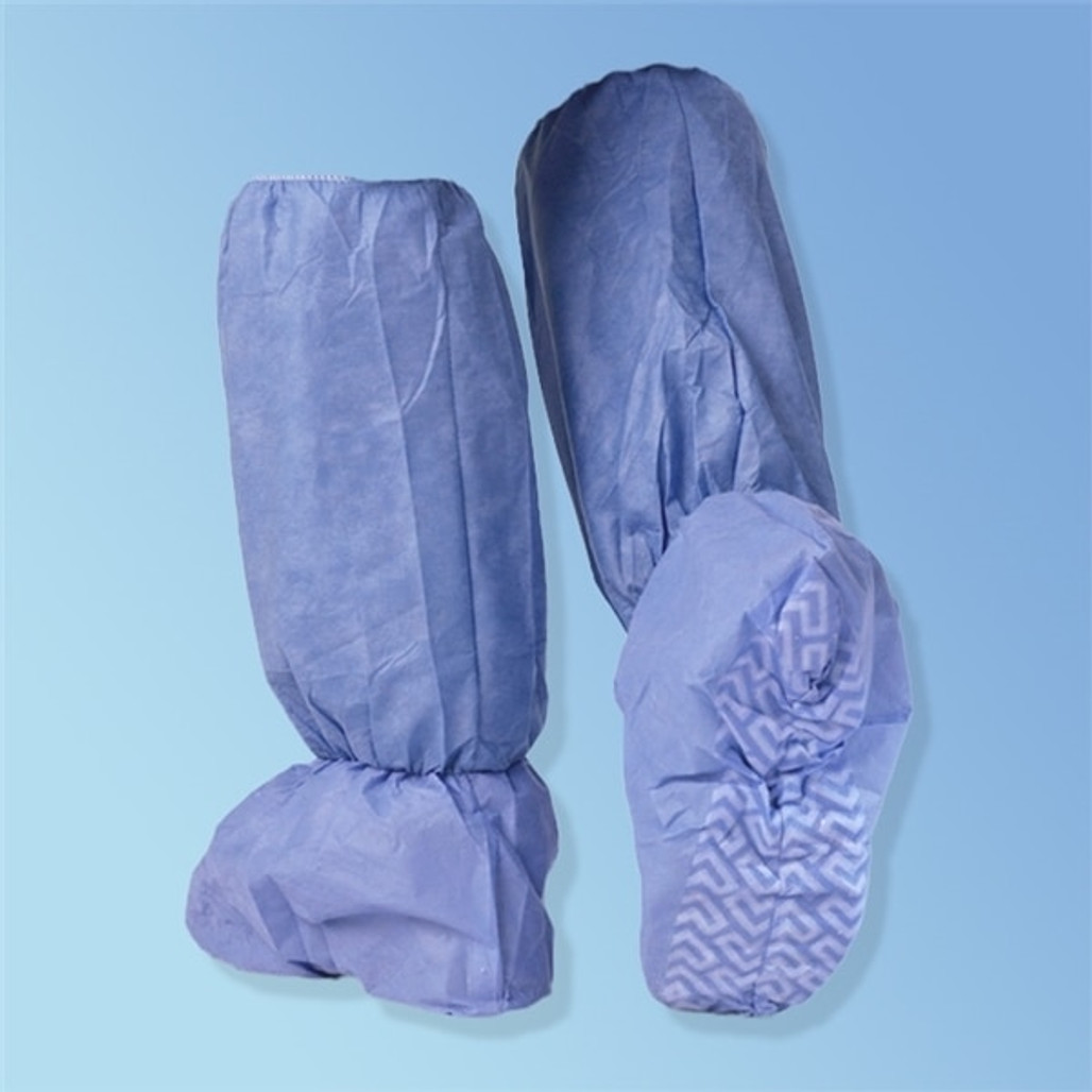 Get Medline Fluid Resistant Boot Covers, Skid-Free 27143 at Harmony