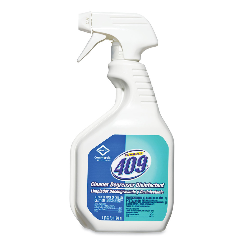 Formula 409 Cleaner Degreaser Disinfectant Spray, 32 oz., 12/case   Harmony Lab and Safety Supplies