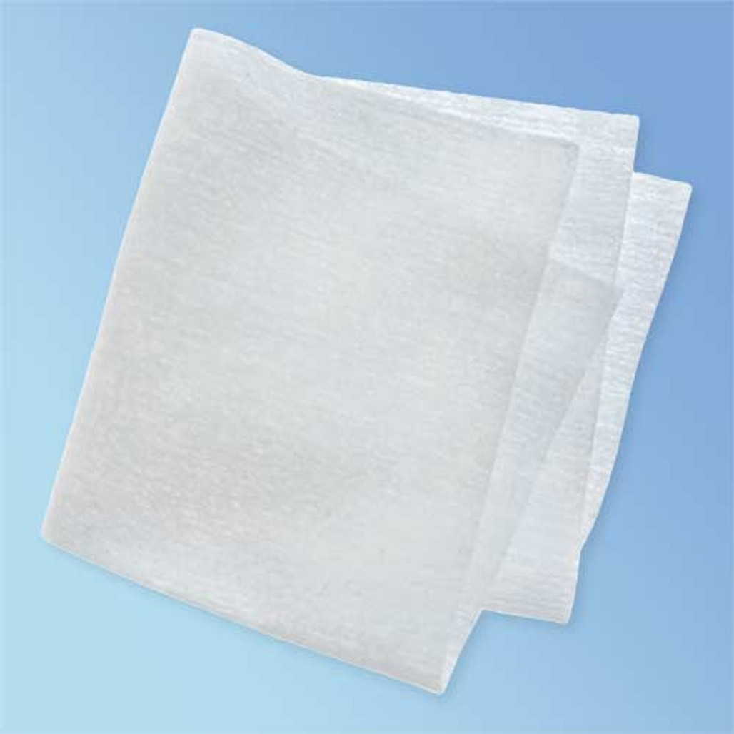 """CleanTex CT404 Hydrosorb III Nonwoven Polyester Wipes, 4"""" x 4"""" (quarter-fold)"""