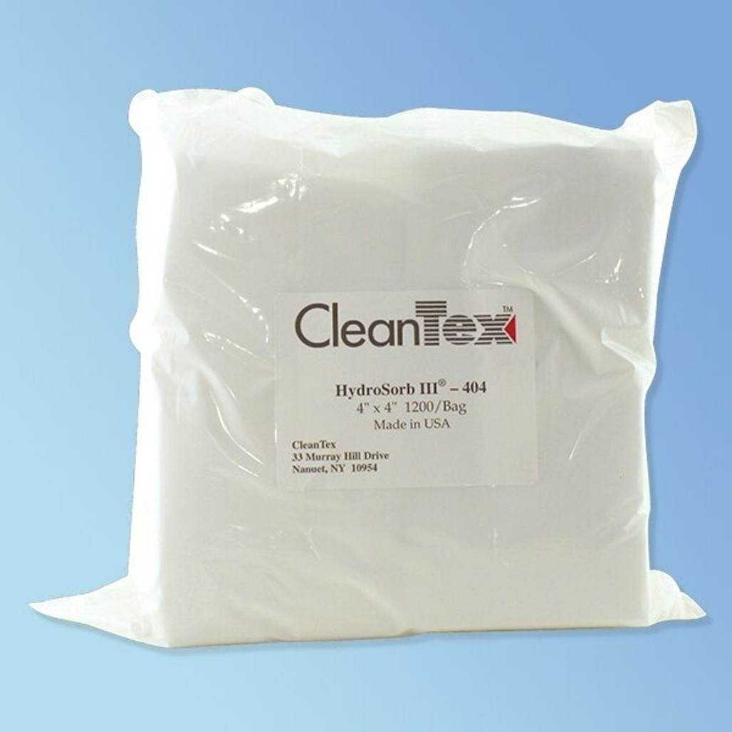 Get Cleantex Hydrosorb III 100% Polyester Wipes CT404&409 at Harmony