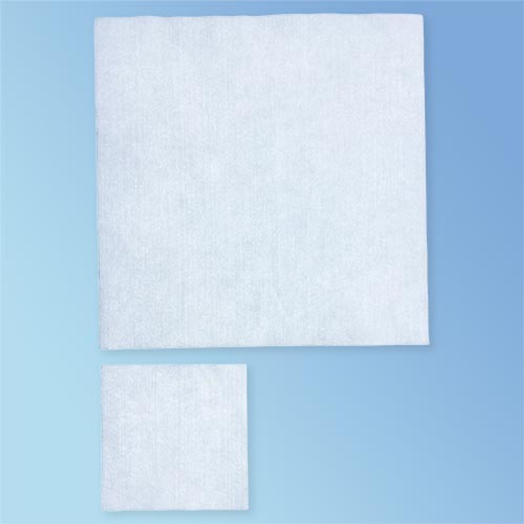 """CleanTex Hydrosorb I Nonwoven Poly/Cellulose Wipes (9"""" x 9"""" and 4"""" x 4"""" Size Comparison)"""