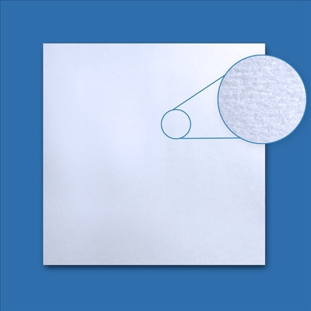 Polyester/Cellulose Nonwoven Blue Cleanroom Wipe, 9 x 9 in., 300/bag, 10/bags/case   Harmony Lab and Safety Supplies