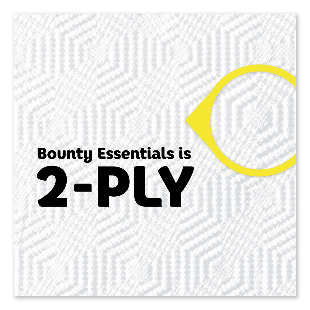 Bounty 2 Ply Paper Towel Rolls, 40 sheets/roll, 30 rolls/case   Harmony Lab and Safety Supplies