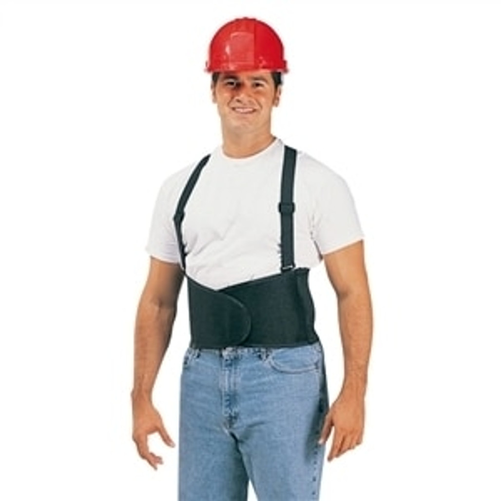 Durawear Hi Vis Back Support Belt with Adjutable Suspenders, Orange, each | Harmony Lab and Safety Supplies