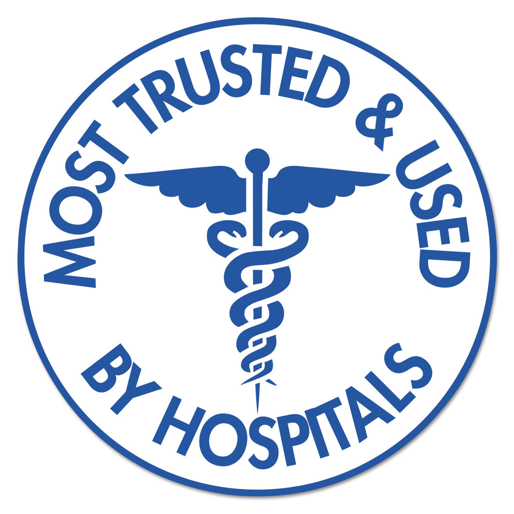 Purell is the most trusted sanitizer in hospitals