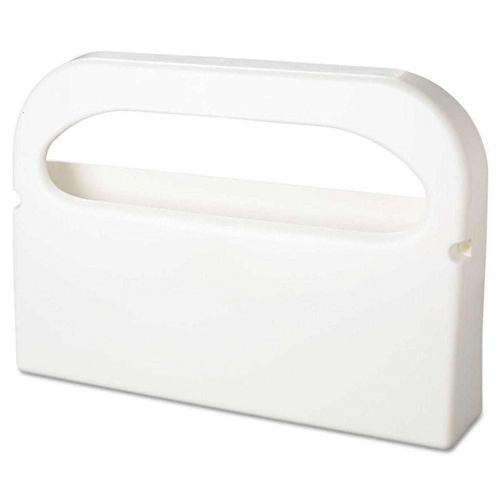Health Gards Toilet Seat Cover Dispenser, White, each | Harmony Lab and Safety Supplies