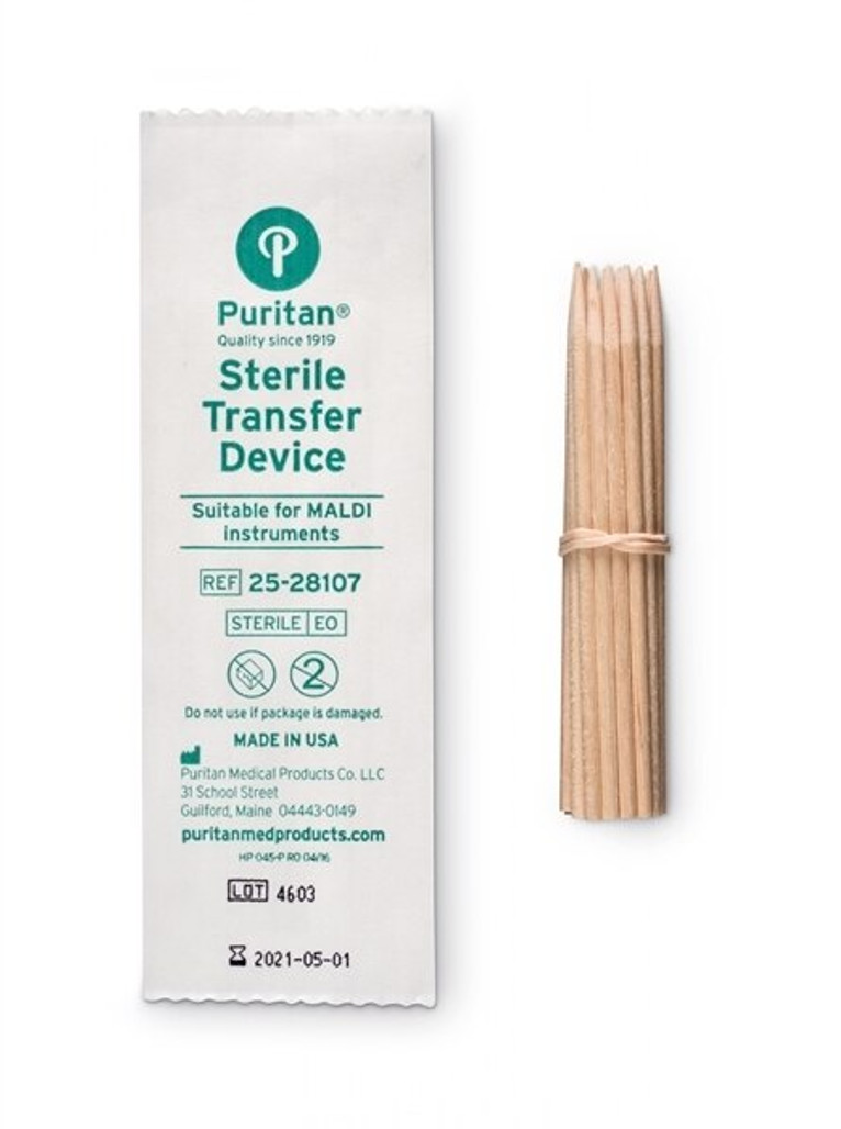 Puritan Sterile Wood Applicator Sticks, 10,400/case   Harmony Lab and Safety Supplies