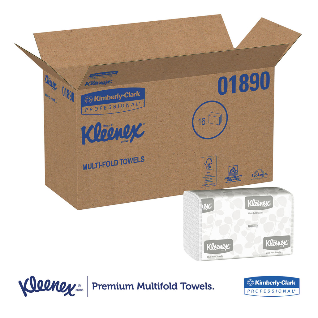 Get Scott White  Multi-Fold Towels, 2400/case LWSFS at Harmony