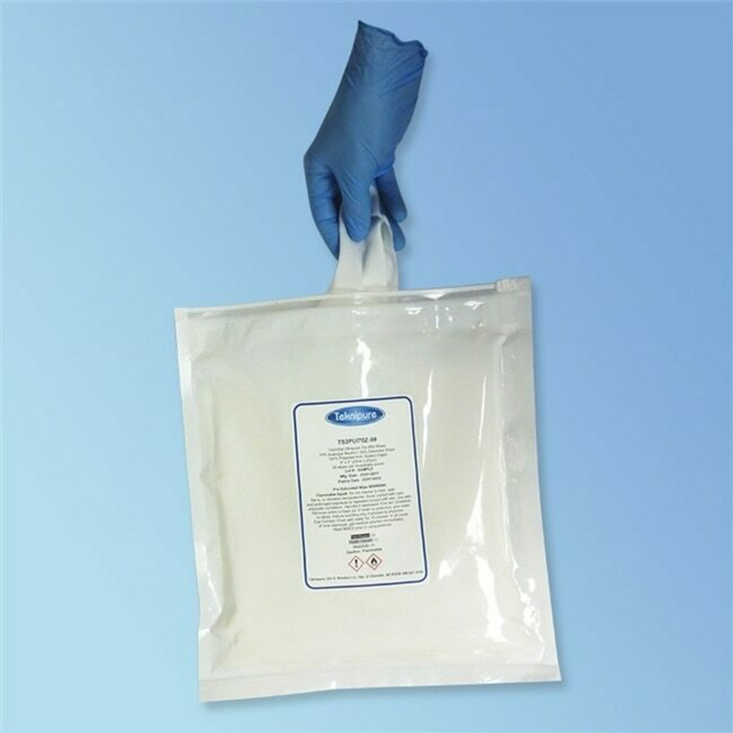 """Get TekniSat 70% Isopropyl Alcohol IPA Polyester Presaturated Cleanroom Wipe, 9"""" x 9"""", 50/pk TS2PUI70Z-99 at Harmony"""