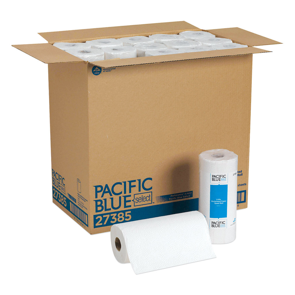Get GP Preference 2 Ply Roll Towel, 85 sheets /roll, 30/case L27385 at Harmony