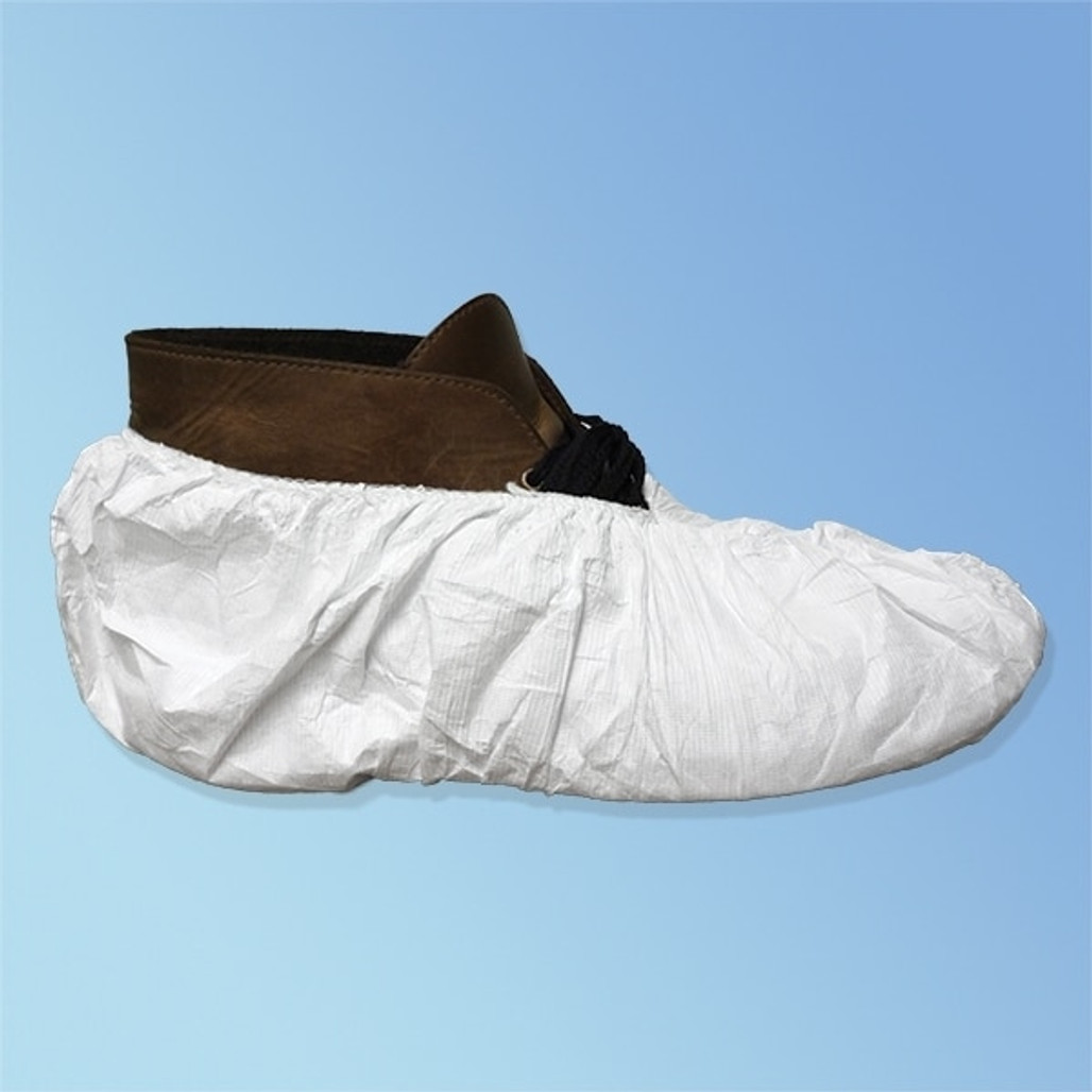 Get Tyvek TY450S Regular Sole Shoe Covers, 100 pairs/case TY450S at Harmony