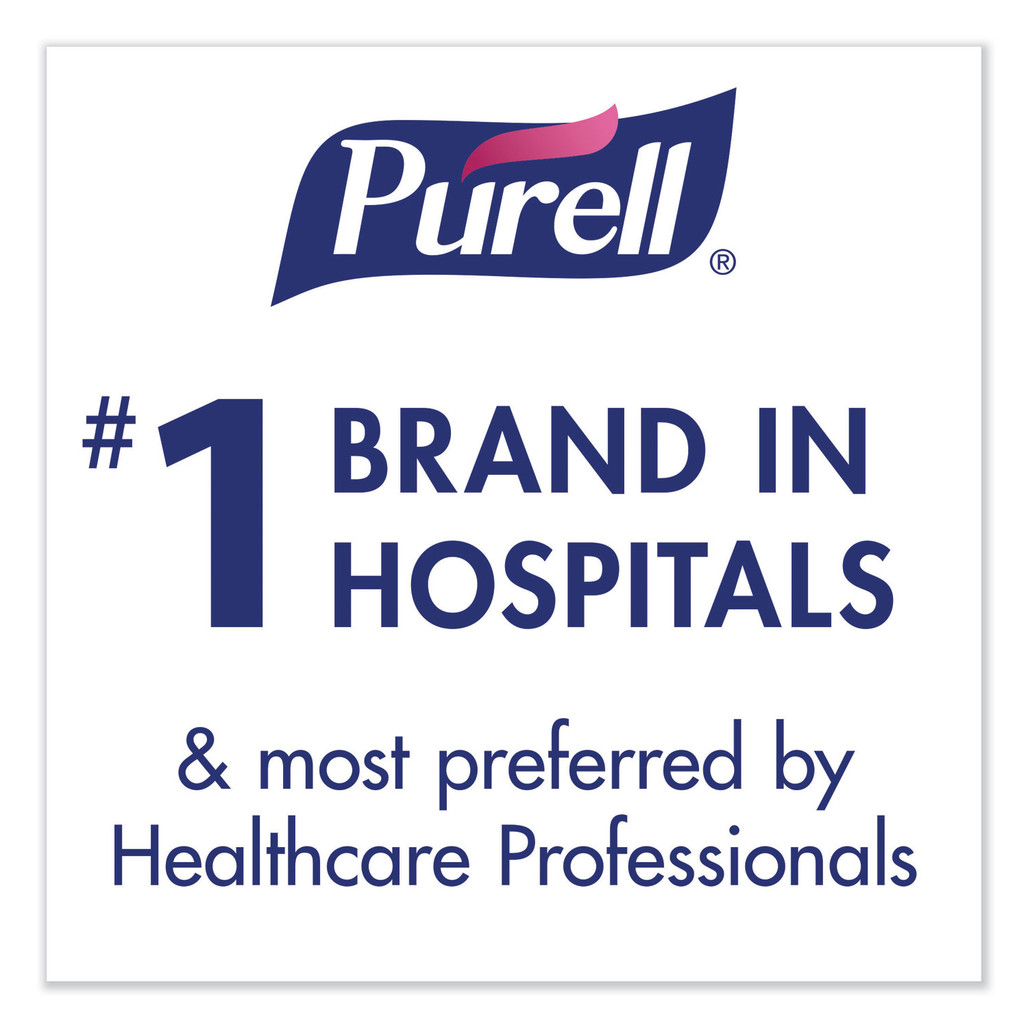 Purell is the #1 brand in hospitals