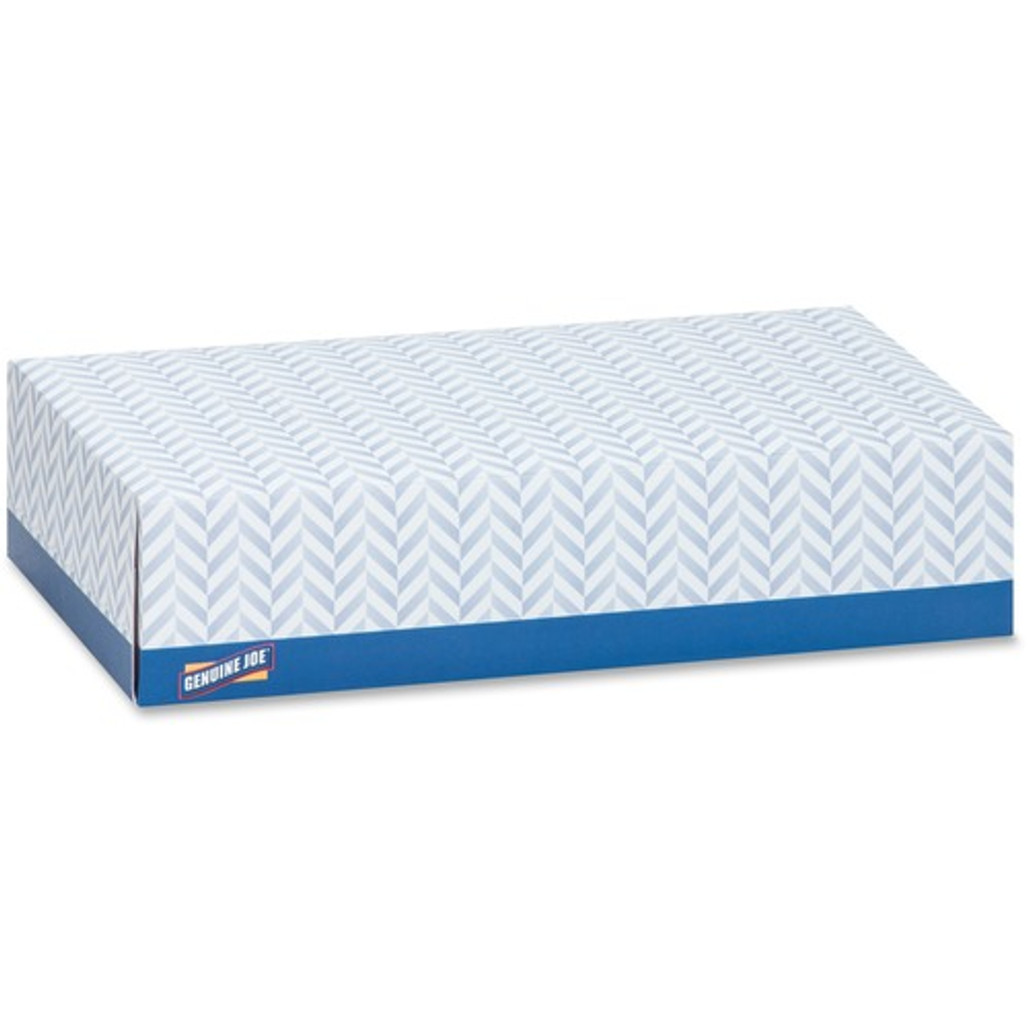 Get Genuine Joe 2 Ply Facial Tissue, 100 tissues /box, 30 boxes /case at Harmony Lab & Safety Supplies.