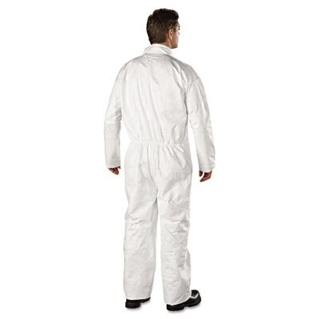Tyvek TY120S Coveralls with open wrist & ankle, 25/case   Harmony Lab and Safety Supplies