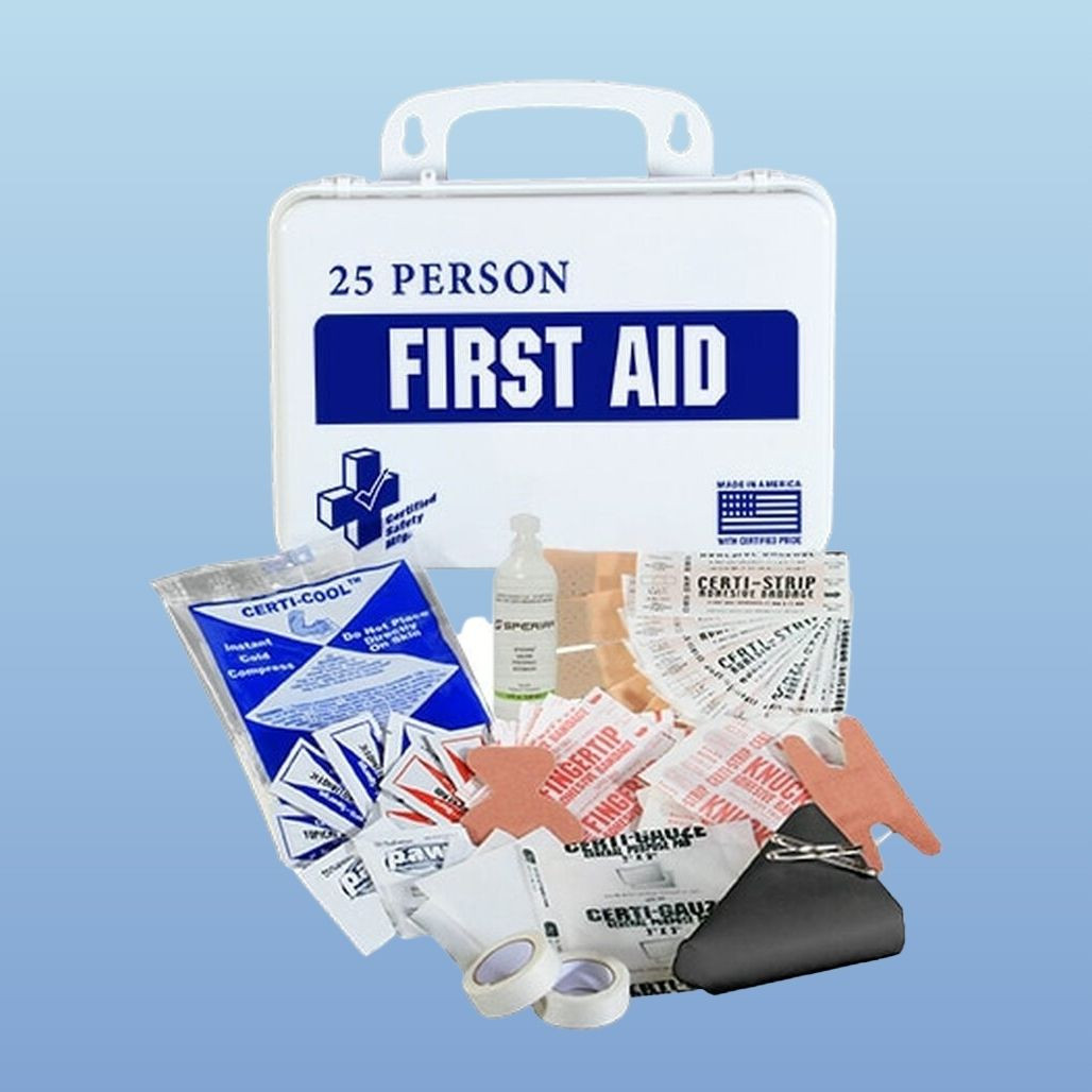 Certified Safety K610-029 16PW First Aid Kit