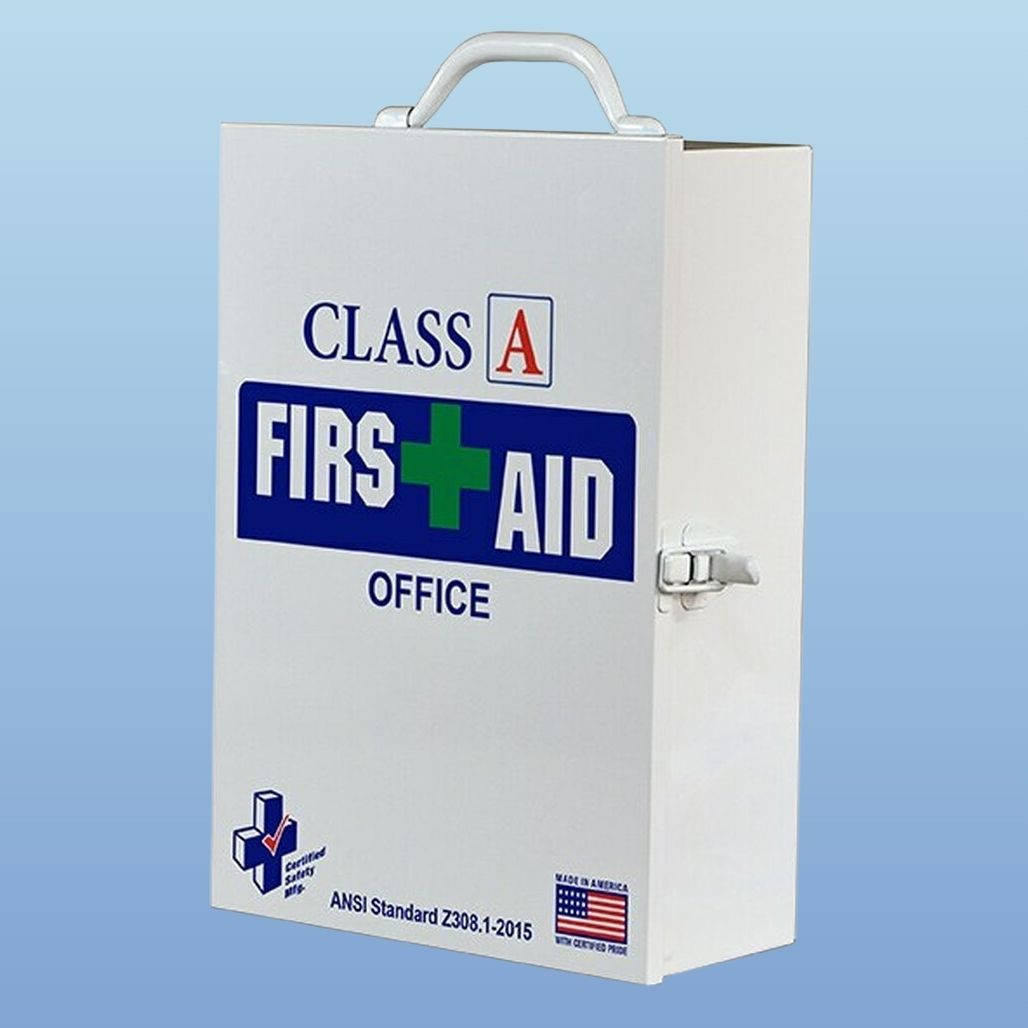 Certified Safety First Aid Kit