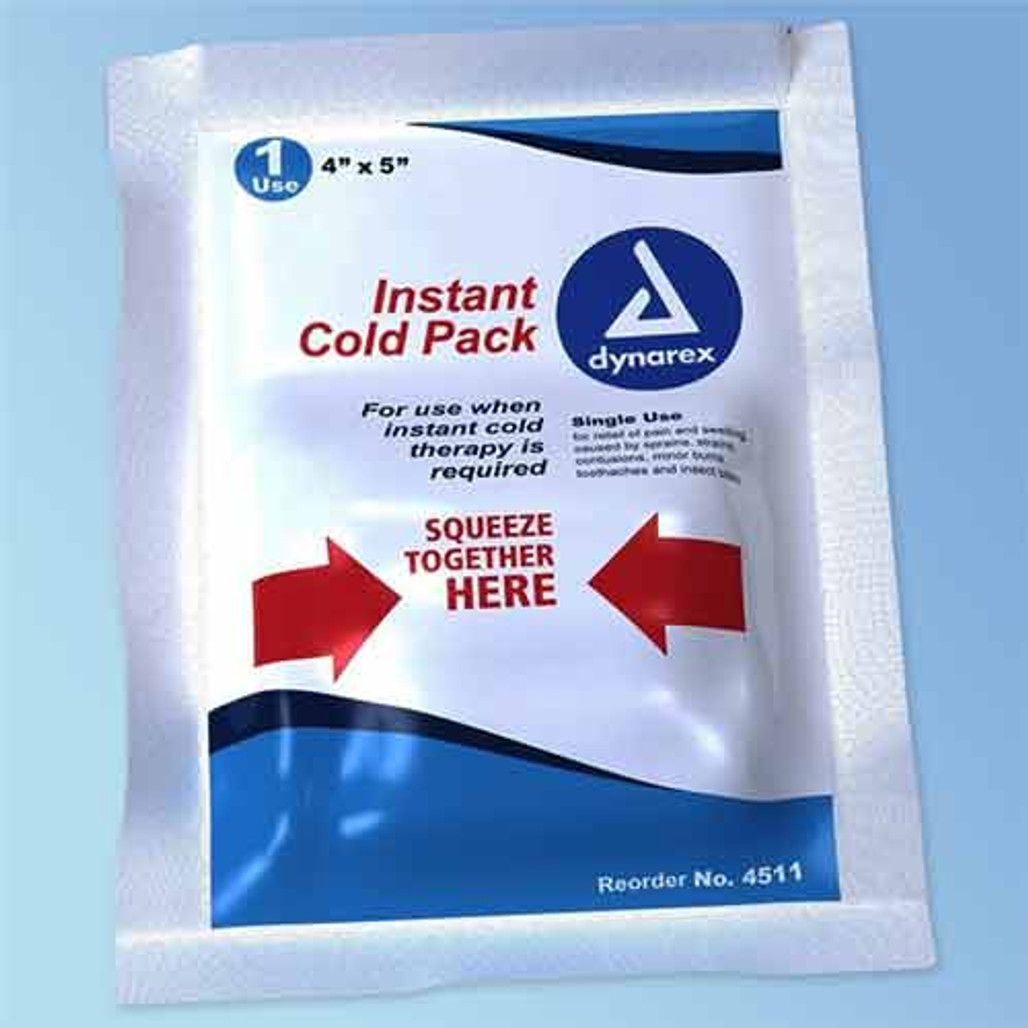 """Get Instant Cold Packs, 4"""" x 5"""", Dynarex 4511 at Harmony"""