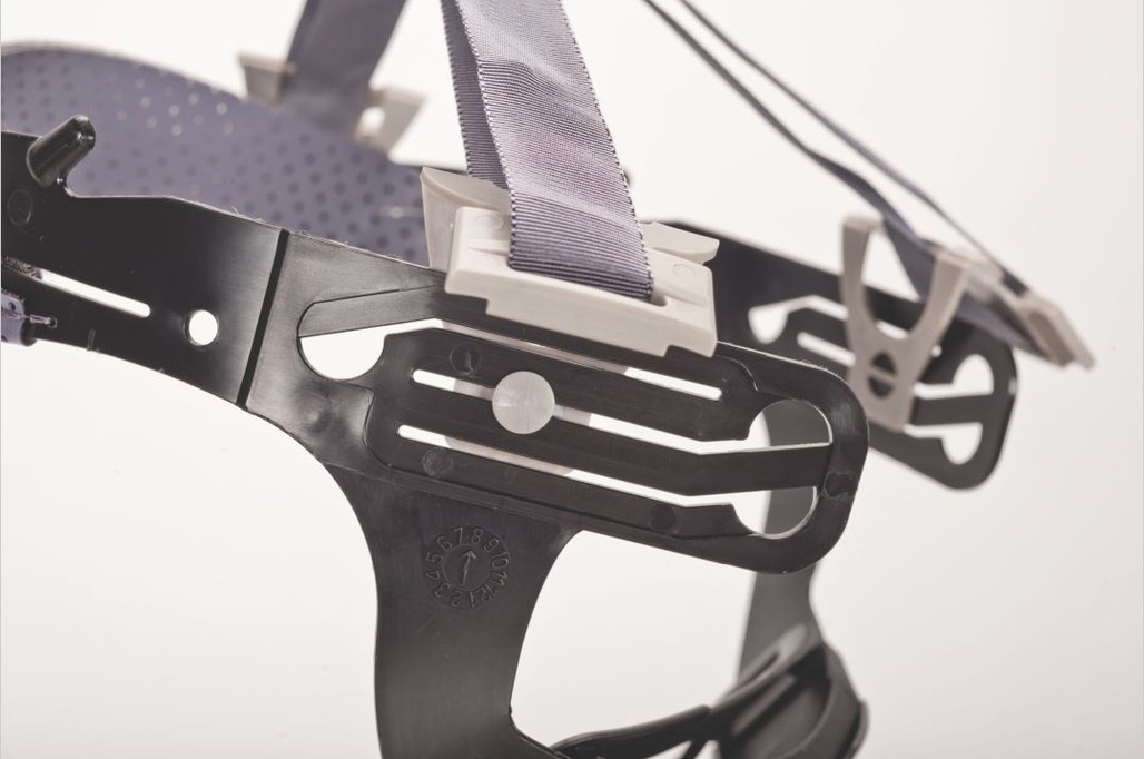 Lower nap strap has 3 levels of adjustment.