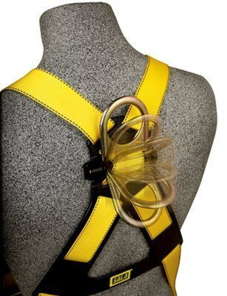 DBI-SALA Delta No-Tangle Full-Body Vest-Style Harness, Pass-Thru Leg Buckles, Universal, each | Harmony Lab and Safety Supplies