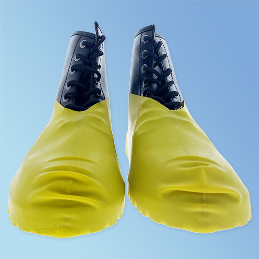 Keystone BC-RBR-100PR Large Heavy Duty Disposable Latex Shoe Cover (Front)