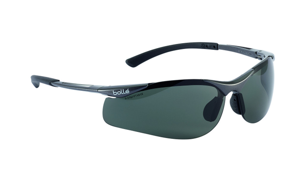 Get Bolle Safety Contour Safety Glasses, Polarized Smoke Lens (40048) at Harmony Lab & Safety Supplies