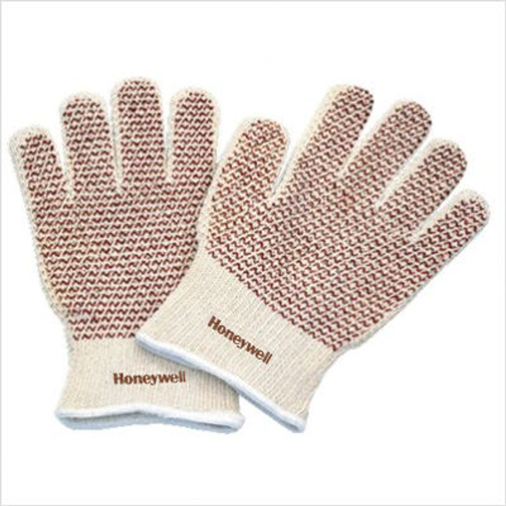 Honeywell 51/7147 North Grip-N Hot Mill Glove with Two-sided Nitrile Dots, 12/pairs